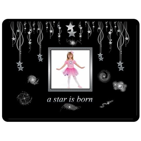 A Star Is Born Extra Large Fleece By Catvinnat   Fleece Blanket (large)   9u6xlnzr31cc   Www Artscow Com 80 x60 Blanket Front