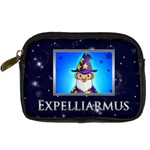 Expelliarmus wizard words camera case - Digital Camera Leather Case