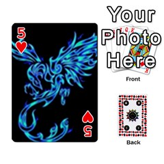 Kiki sdeck By Kiki Jesus   Playing Cards 54 Designs   Pl8byvpu54g6   Www Artscow Com Front - Heart5
