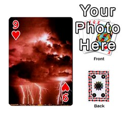 Kiki sdeck By Kiki Jesus   Playing Cards 54 Designs   Pl8byvpu54g6   Www Artscow Com Front - Heart9