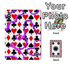 Ace Kiki sdeck By Kiki Jesus   Playing Cards 54 Designs   Pl8byvpu54g6   Www Artscow Com Front - ClubA