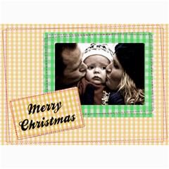 Christmas Cards   5  X 7  Photo Cards By Carmensita   5  X 7  Photo Cards   Mlr9zglt8mhi   Www Artscow Com 7 x5 Photo Card - 1