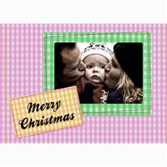 Christmas Cards   5  X 7  Photo Cards By Carmensita   5  X 7  Photo Cards   Mlr9zglt8mhi   Www Artscow Com 7 x5 Photo Card - 5