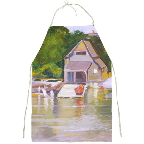 Lake Apron  By Christie   Full Print Apron   S90z3qhmm4wb   Www Artscow Com Front