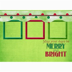 Merry And Bright Card 5x7 102 By Lisa Minor   5  X 7  Photo Cards   D7zb2etfitjt   Www Artscow Com 7 x5 Photo Card - 8