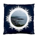 Midnight Snowstorm Cushion - Standard Cushion Case (Two Sides)