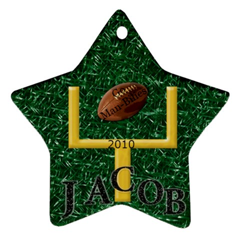 Jacob s By Anna Marie   Ornament (star)   Arx4sjlavb7h   Www Artscow Com Front