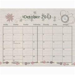 Pretty Girl 2011 Calendar By Wendi Giles   Wall Calendar 11  X 8 5  (12 Months)   5lp9svrz4wzu   Www Artscow Com Oct 2011