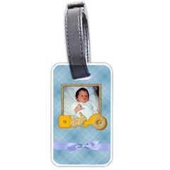 Foodie Boy Luggage Tag By Lisa Minor   Luggage Tag (two Sides)   Fil250umkedf   Www Artscow Com Front