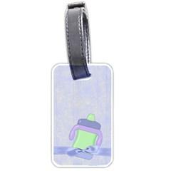 Foodie Boy Luggage Tag By Lisa Minor   Luggage Tag (two Sides)   Fil250umkedf   Www Artscow Com Back