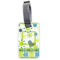 Bluegrass Boy Luggage Tag By Lisa Minor   Luggage Tag (two Sides)   W3in9itl6clz   Www Artscow Com Front