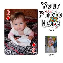 Gabi Karti Za Igra By Kalina   Playing Cards 54 Designs   Kl05pjmrrrw8   Www Artscow Com Front - Diamond2