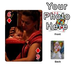 Gabi Karti Za Igra By Kalina   Playing Cards 54 Designs   Kl05pjmrrrw8   Www Artscow Com Front - Diamond6