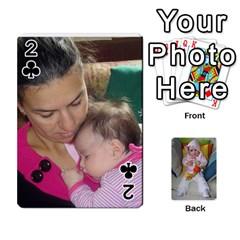 Gabi Karti Za Igra By Kalina   Playing Cards 54 Designs   Kl05pjmrrrw8   Www Artscow Com Front - Club2