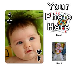 Gabi Karti Za Igra By Kalina   Playing Cards 54 Designs   Kl05pjmrrrw8   Www Artscow Com Front - Club4