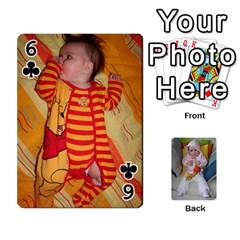Gabi Karti Za Igra By Kalina   Playing Cards 54 Designs   Kl05pjmrrrw8   Www Artscow Com Front - Club6