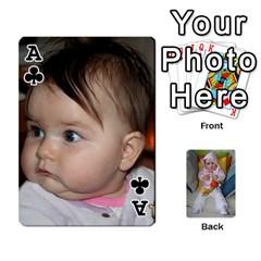 Ace Gabi Karti Za Igra By Kalina   Playing Cards 54 Designs   Kl05pjmrrrw8   Www Artscow Com Front - ClubA