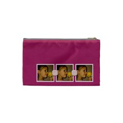 Awaken Her Small Cosmetic Bag By Lisa Minor   Cosmetic Bag (small)   Kldfm3tefk7m   Www Artscow Com Back