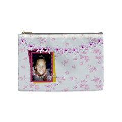 Awaken Her Medium Cosmetic Bag By Lisa Minor   Cosmetic Bag (medium)   Dg33moshxuxp   Www Artscow Com Front