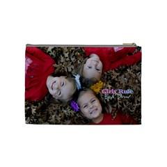 Mommy By Lisa   Cosmetic Bag (medium)   Dc2tfsixy900   Www Artscow Com Back
