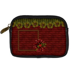 Old World Christmas Camera Bag By Lisa Minor   Digital Camera Leather Case   Xdqg0l0a5eyx   Www Artscow Com Front