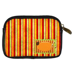 Miss Ladybugs Garden Camera Case 1 By Lisa Minor   Digital Camera Leather Case   Xdhhh1g2ijt0   Www Artscow Com Back