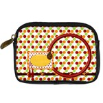 Miss Ladybugs Garden Camera Case 2 - Digital Camera Leather Case
