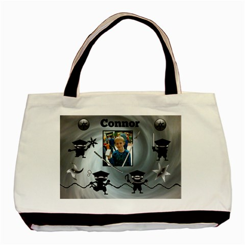 Ninja Tote 3 By Lmw   Basic Tote Bag   Qkbn7b8gg7yl   Www Artscow Com Front