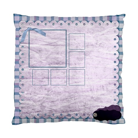 Lavender Rain One Side Pillow By Lisa Minor   Standard Cushion Case (one Side)   1f4rwldq5dnf   Www Artscow Com Front