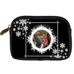 Midnight snowstorm camera case 2 - Digital Camera Leather Case