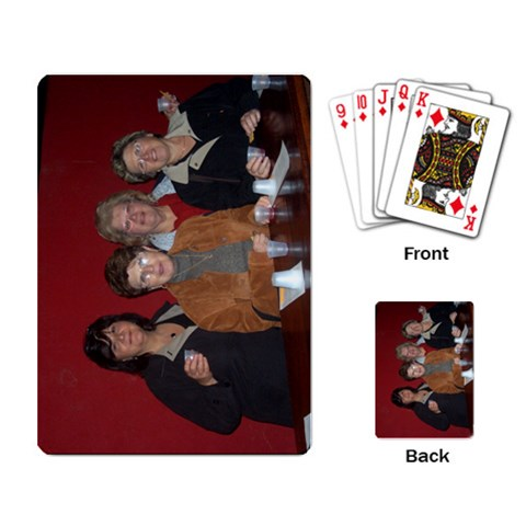 By Elaine Giurleo   Playing Cards Single Design   Q86w5v117hc3   Www Artscow Com Back