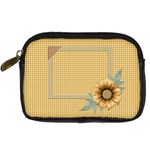Quilted Camera Bag - Digital Camera Leather Case