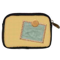 Quilted Camera Bag By Lisa Minor   Digital Camera Leather Case   Fe48ze7c5j0u   Www Artscow Com Back