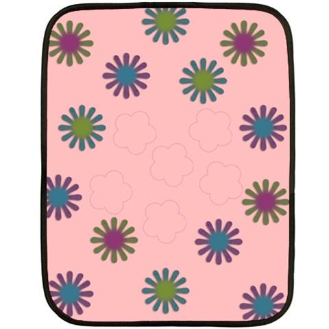Mini Flower Fleece By Amanda Bunn   Fleece Blanket (mini)   Qwxfh2uikdl0   Www Artscow Com 35 x27 Blanket