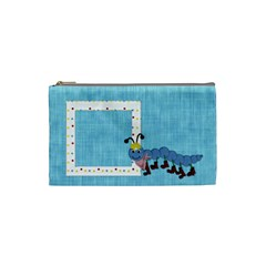 Silly Summer Fun Small Cosmetic Bag By Lisa Minor   Cosmetic Bag (small)   81nmyhtbmgs1   Www Artscow Com Front