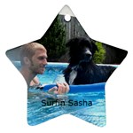 Surfin Sasha - Ornament (Star)