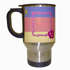 Day & Night By Daniela   Travel Mug (white)   Lo198eh7lnuj   Www Artscow Com Left