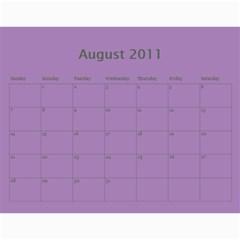 2011 By Tiffany   Wall Calendar 11  X 8 5  (12 Months)   Uz3qqu81yh20   Www Artscow Com Aug 2011