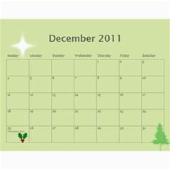 2011 By Tiffany   Wall Calendar 11  X 8 5  (12 Months)   Uz3qqu81yh20   Www Artscow Com Dec 2011