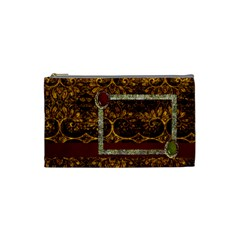 Arabian Spice Small Cosmetic Bag 1 By Lisa Minor   Cosmetic Bag (small)   01v96vtyvte1   Www Artscow Com Front