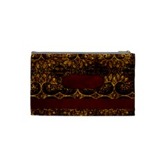 Arabian Spice Small Cosmetic Bag 1 By Lisa Minor   Cosmetic Bag (small)   01v96vtyvte1   Www Artscow Com Back