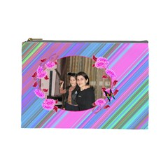 Cosmetic Bag M4 By Galya   Cosmetic Bag (large)   Krm93ou95y5s   Www Artscow Com Front
