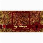 Arabian Spice 8x4 Card 2 - 4  x 8  Photo Cards