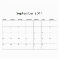 Daria   Baba Eti By Milena   Wall Calendar 11  X 8 5  (12 Months)   Dyhu45acglcx   Www Artscow Com Sep 2011
