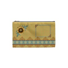 Quilted Small Cosmetic Bag By Lisa Minor   Cosmetic Bag (small)   3b4z9rd7kgdn   Www Artscow Com Front