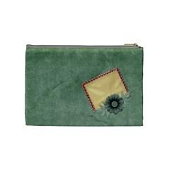 Quilted Medium Cosmetic Bag 1 By Lisa Minor   Cosmetic Bag (medium)   G25uhot9mzrv   Www Artscow Com Back