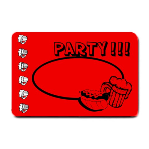 Party Beer   24 x16  Door Mat By Carmensita   Small Doormat   Vz3p77ln8ssf   Www Artscow Com 24 x16 Door Mat - 1