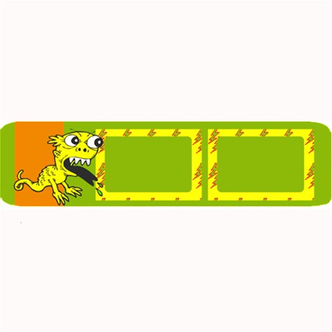 Yellow Monster   32 x8 5  Bar Mat By Carmensita   Large Bar Mat   86my8aq4dl1b   Www Artscow Com 34 x9.03 Bar Mat - 1