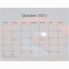 2011 Calendar By Jessica Jere   Wall Calendar 11  X 8 5  (12 Months)   Qqcqmun3zd18   Www Artscow Com Oct 2011