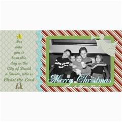 Merry Christmas Photo Card W Tree By Martha Meier   4  X 8  Photo Cards   Y5pazl89gpe3   Www Artscow Com 8 x4 Photo Card - 10